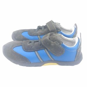 RILEYROOS SPORTIE FLASH KIDS SHOES BLUE GRAY